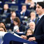 Prim-ministrul canadian, Justin Trudeau: Nu jucăm un joc dublu prin acceptarea protecționismului lui Trump și a comerțului liber al UE