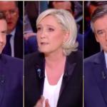 Franța. Prima dezbatere televizată a principalilor candidați la alegerile prezidențiale