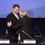 Klaus Iohannis și Jean-Claude Juncker discută, la București, viitorul UE și prioritățile președinției române a Consiliului