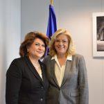 Rovana Plumb, întrevedere cu comisarul Corina Crețu în Bruxelles pentru creșterea ratei de absorbție a fondurilor europene: Venim cu o nouă filosofie, concentrându-ne pe rezultatele utilizării banilor europeni, dar și pe simplificarea procedurilor
