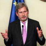 """Comisarul european pentru Extindere anunță că Executivul european """"va recomanda în curând statelor membre demararea negocierilor de aderare cu Albania și Macedonia"""""""