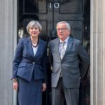 Theresa May, după întâlnirea cu Jean-Claude Juncker: Marea Britanie dorește o relație specială cu Uniunea Europeană