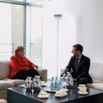 Emmanuel Macron, prima sa vizită oficială în calitate de președinte al Franței. Angela Merkel îl așteaptă luni la Berlin