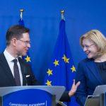 """Vicepreședintele Comisiei Europene, Jyrki Katainen, și comisarul pentru politică regională, Corina Crețu, participă în Finlanda la conferința """"Regiuni inteligente 2.0"""" și la o sesiune de dialog cu cetățenii"""