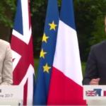 Theresa May, întâlnire cu Emmanuel Macron în ianuarie, înainte de începerea negocierilor referitoare la viitoarea relație comercială UE-Marea Britanie