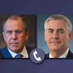 """Discuție telefonică Rex Tillerson – Serghei Lavrov. Oficialul rus a cerut Washingtonului să împiedice """"provocările împotriva forțelor lui Bashar al-Assad"""""""