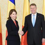 Noii ambasadori ai Franței și Ucrainei la București au fost primiți de președintele Klaus Iohannis la Cotroceni