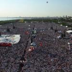 Străzile Istanbulului, invadate de sute de mii de turci în cadrul celui mai amplu protest împotriva lui Recep Tayyip Erdogan din ultimii ani