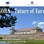 """""""Agora – Future of Europe"""": At Făgăraș Citadel, Romanian citizens will debate Juncker's White Paper and vote on Romania's future in the EU"""