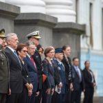 Din Kiev, secretarul SUA al Apărării acuză Rusia: Știm că urmărește să retraseze granițele cu forța