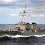 Incident în Marea Chinei de Sud. Un distrugător american, somat de mai multe ori de Marina chineză să părăsească apele revendicate după ce s-a apropiat de o insulă artificială