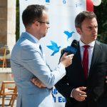"""INTERVIU Dan Cărbunaru, director CaleaEuropeana.ro, la finalul dezbaterii """"Agora – Viitorul Europei"""" de la Piatra Neamț: Europa trebuie să coboare din turnul de fildeș, iar ca să mergem înainte trebuie să luăm această energie de la cetățeni"""