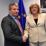 Comisarul european Corina Crețu și ministrul Sănătății au vorbit, la Bruxelles, de următoarele etape în construcția celor trei spitale regionale