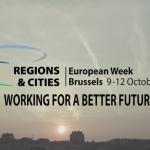 Săptămâna europeană a regiunilor și orașelor. 100 de ateliere, dezbateri și expoziții, organizate la Bruxelles între 9-12 octombrie pe tema dezvoltării regionale și locale