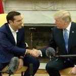 Donald Trump, întrevedere cu Alexis Tsipras. Cei doi lideri au subliniat valorile comune împărtășite și au pledat pentru consolidarea cooperării