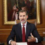 """În cadrul unei intervenții televizate rare, regele Felipe al VI-lea al Spaniei acuză autoritățile catalane că încearcă să distrugă """"unitatea statului"""""""
