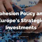 """LIVE VIDEO Grupul PPE din cadrul Comitetului European al Regiunilor organizează dezbaterea """"Politica de Coeziune și Investițiile Strategice ale Europei"""" în cadrul Săptămânii Europene a Regiunilor și Orașelor 2017"""