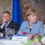 Galerie FOTO: Klaus Iohannis, alături de Angela Merkel și Jean-Claude Juncker la summit-ul PPE înaintea Consiliului European