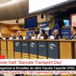 """VIDEO Eurodeputatul Claudia Țapardel (PSD, S&D): """"Transportul pe Dunăre poate constitui platforma pentru conectivitatea europeană pe termen lung"""""""