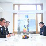 Klaus Iohannis, întâlnire cu Petro Poroshenko: Învățământul în limba română, în centrul discuțiilor