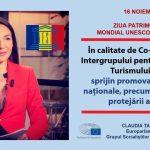 Eurodeputatul Claudia Țapardel (PSD, S&D), mesaj de Ziua Patrimoniului Mondial UNESCO din România: Sprijin promovarea valorilor naționale și necesitatea protejării lor