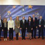 Ministrul Justiției Tudorel Toader, întrevedere cu ambasadorii a nouă state, printre care și Franța, Germania și SUA. Recentele evoluții legislative, stadiul îndeplinirii recomandărilor din MCV și statul de drept, printre temele discutate