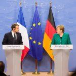 Emmanuel Macron și Angela Merkel își propun ca statele lor să își armonizeze poziția privind reforma zonei euro