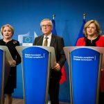 Președintele Comisiei Europene: Doamna Dăncilă este al cincilea premier român pe care îl întâmpin. Sper că acest ciclu se va opri