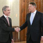 Vicepremierul pentru Integrare Europeană Iurie Leancă, primit la Palatul Cotroceni. Klaus Iohannis: Parcursul european, singura cale viabilă pentru viitorul R. Moldova