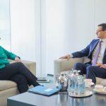 """Premierul polonez Mateusz Morawiecki, înaintea întrevederii cu Angela Merkel: Gazoductul Nord Stream 2 este """"o amenințare"""""""