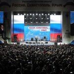 Vladimir Putin, vizită în Crimeea cu doar patru zile înainte de alegerile prezidențiale din Rusia: Prin decizia voastră, ați restabilit justiția istorică încălcată în epoca sovietică