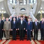 Klaus Iohannis s-a întâlnit cu miniștrii Apărării din țările B9, reuniți în premieră la București. Președintele solicită sporirea mobilității forțelor NATO pe flancul estic