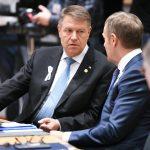 Klaus Iohannis participă la Consiliul European. România va sprijini iniţiativele NATO şi UE destinate îmbunătăţirii mobilităţii militare