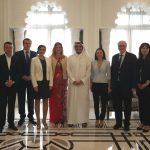 Europarlamentarul Claudia Țapardel (PSD, S&D), vizită de lucru împreună cu Grupul de Prietenie Parlamentar UE-Qatar în Doha