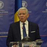 """Ministrul Teodor Meleșcanu participă la reuniunea ministerială OCDE. Aderarea la această organizație, """"un jalon esențial"""" al politicii externe românești"""