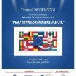 """A 5-a ediţie a evenimentului """"Piaţa Statelor Membre ale Uniunii Europene"""" în Parcul Cişmigiu, 5 mai"""
