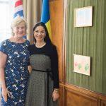 Viceprim-ministrul Ana Birchall, întrevedere cu un oficial SUA. Organizarea întâlnirii anuale a Dialogului Strategic, pe agenda discuțiilor