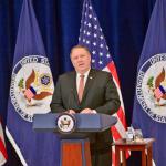 """Secretarul de stat american Mike Pompeo anunță noi sancțiuni împotriva Iranului: Acordul nuclear a fost o înțelegere """"ratată"""" care """"a pus întreaga lume în pericol"""""""