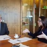 Eurodeputatul Gabriela Zoană (PSD, S&D), întrevedere cu președintele executivului european, Jean-Claude Juncker