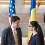 Secretarul de Stat al SUA pentru Europa și Eurasia, Wess Mitchell, vizită oficială în România. Acesta a avut o întrevedere cu viceprim-ministrul Ana Birchall