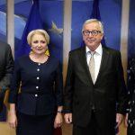 Președintele Comisiei Europene Jean-Claude Juncker, după întrevederea cu Viorica Dăncilă: Reveniți la un discurs politic normal în România