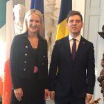 Ministrul Victor Negrescu, la Dublin: România și Irlanda sprijină consolidarea proiectului european, axat pe o Uniune Europeană mai apropiată de cetățenii săi