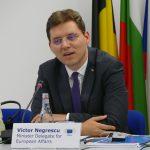 Ministrul delegat pentru Afaceri Europene: Pe timpul președinției Consiliului UE, România vrea să își asume rolul de broker onest