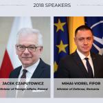 Vicepremierul Ana Birchall și ministrul Apărării Mihai Fifor reprezintă România la Forumul CEPA de la Washington, conferință anuală de top dedicată relației transatlantice