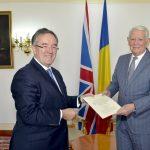Andrew Noble, secretar în cadrul Ambasadei Marii Britanii la București în anii '80, a revenit în România ca ambasador al Regatului Unit