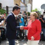 Criza migrației. Cancelarul german Angela Merkel și premierul spaniol Pedro Sanchez au convenit să sprijine Marocul, țară de origine și de tranzit pentru migranți