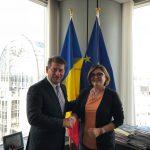 """Eurodeputatul Adina Vălean (PNL, PPE), întâlnire cu directorul de campanie al PPE pentru alegerile europene: """"Cetățenii își doresc o Europă curată, sustenabilă și sănătoasă"""""""