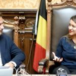 VIDEO INTERVIU Gabriela Mara, singurul consilier local român din Belgia:Comunitatearomânească a crescut mult iar lucrurile au evoluat pozitivpentru că românii își găsesc de muncă și sunt foarte serioși