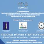 Conferința Regională Craiova. Preluarea Președinției Strategiei Dunării de către România – șansă istorică pentru formarea polului de inovare și protejare a biodiversității