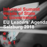 Consiliul European informal din Salzburg, o oportunitate de avansare a agendei europene în domeniile securității interne, migrației și Brexitului